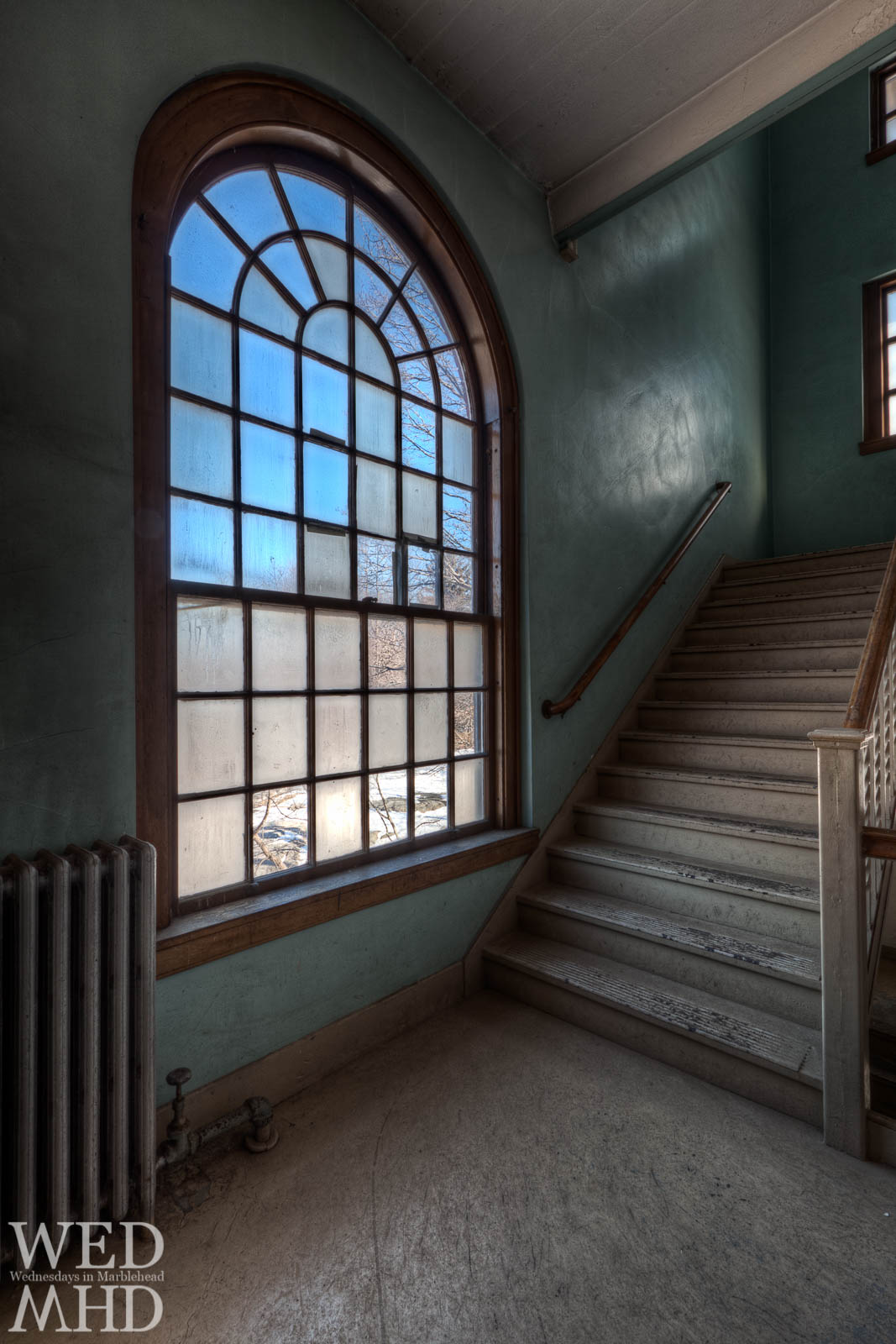 The Stairwells at the Old Glover School