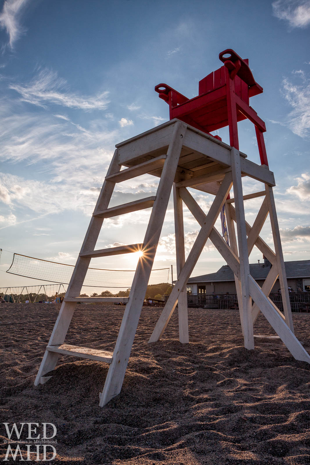 The Lifeguard Chair – Sunstar and Volleyball net