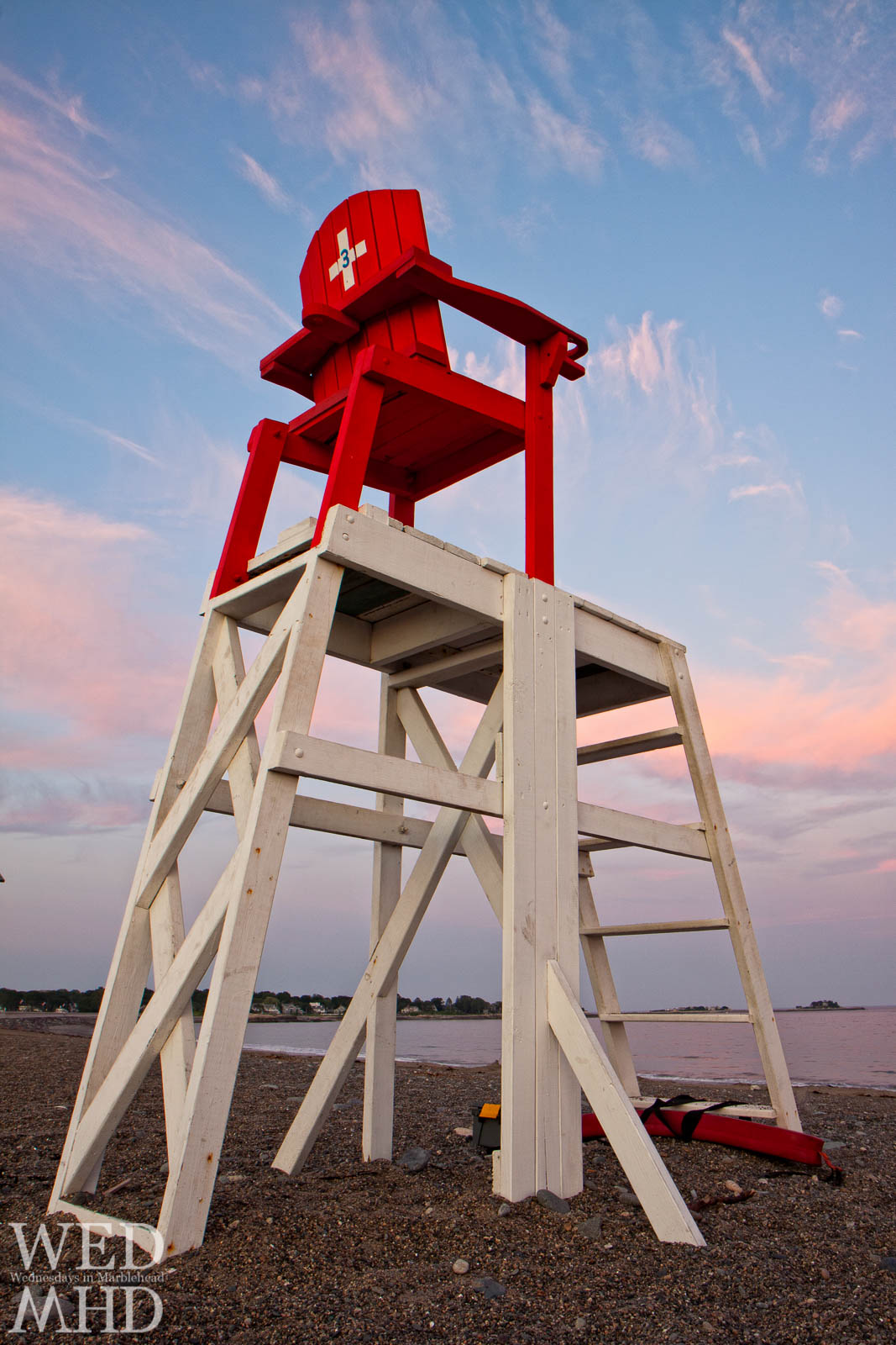 Lifeguard Chairs on Devereux Beach