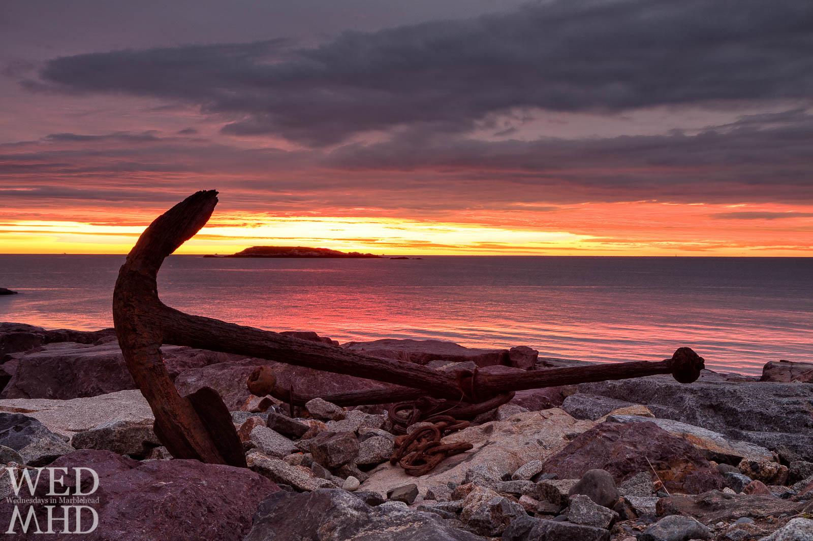 anchor at dawn
