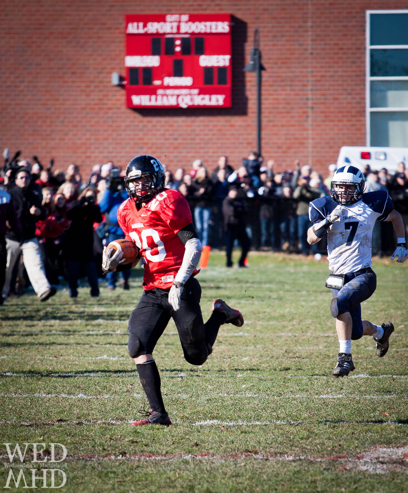 Marblehead Swampscott Thanksgiving Football game
