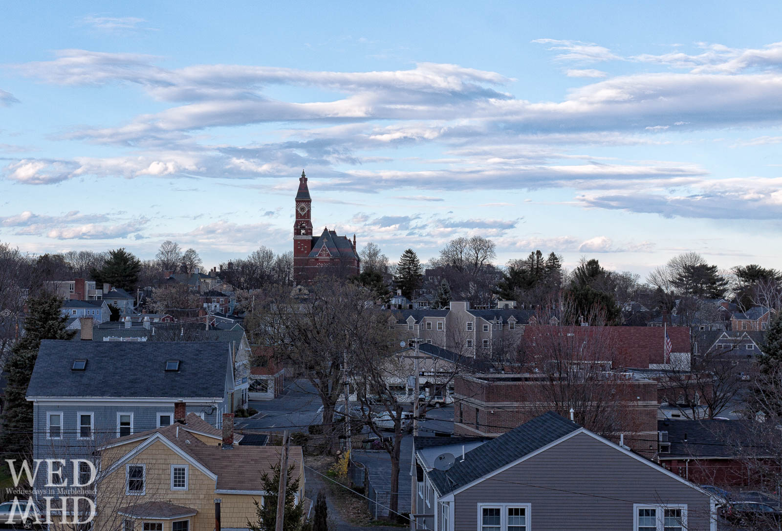 rooftop view of Marblehead MA