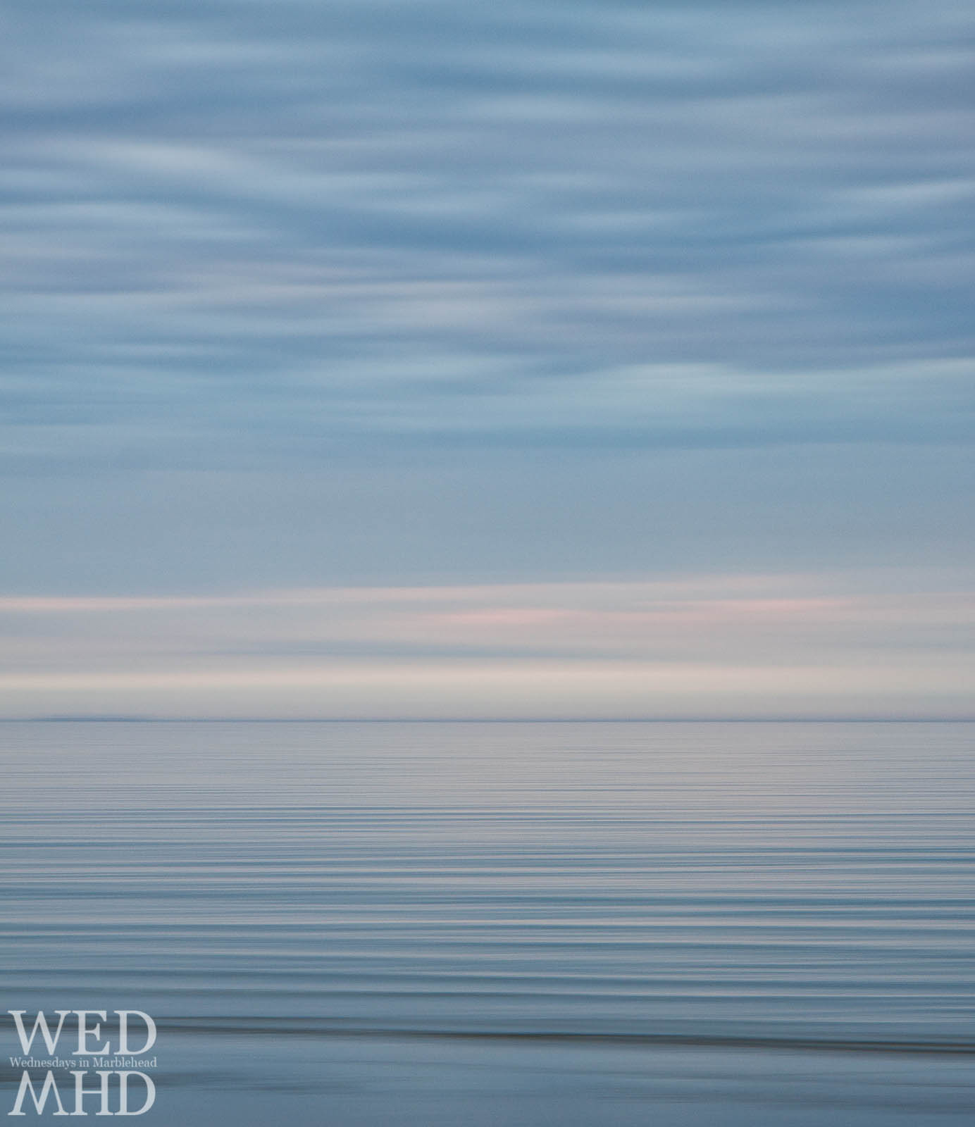 intentional camera movement dawn over ocean