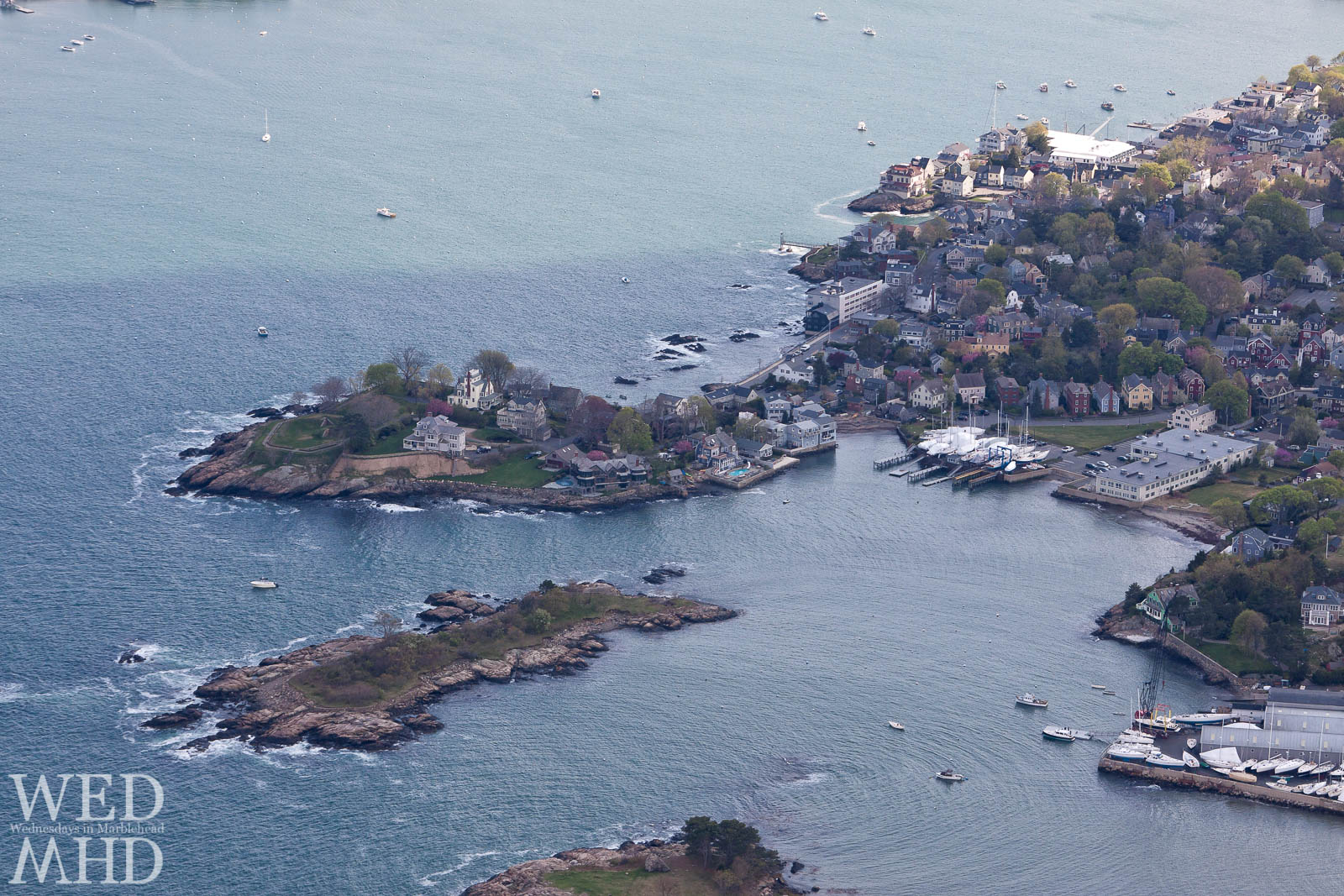 aerial photo of Marblehead