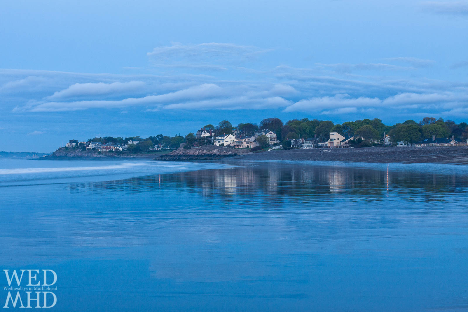 In the Blue Hour at Devereux Beach