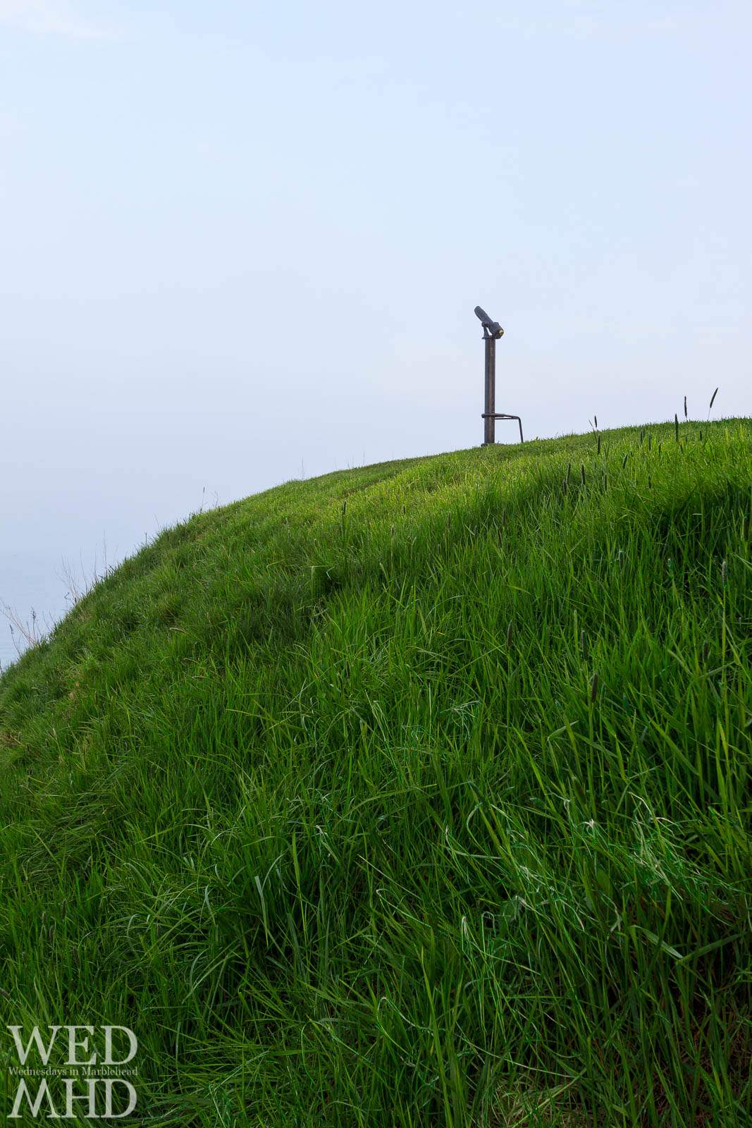 The Grassy Hill at Fort Sewall