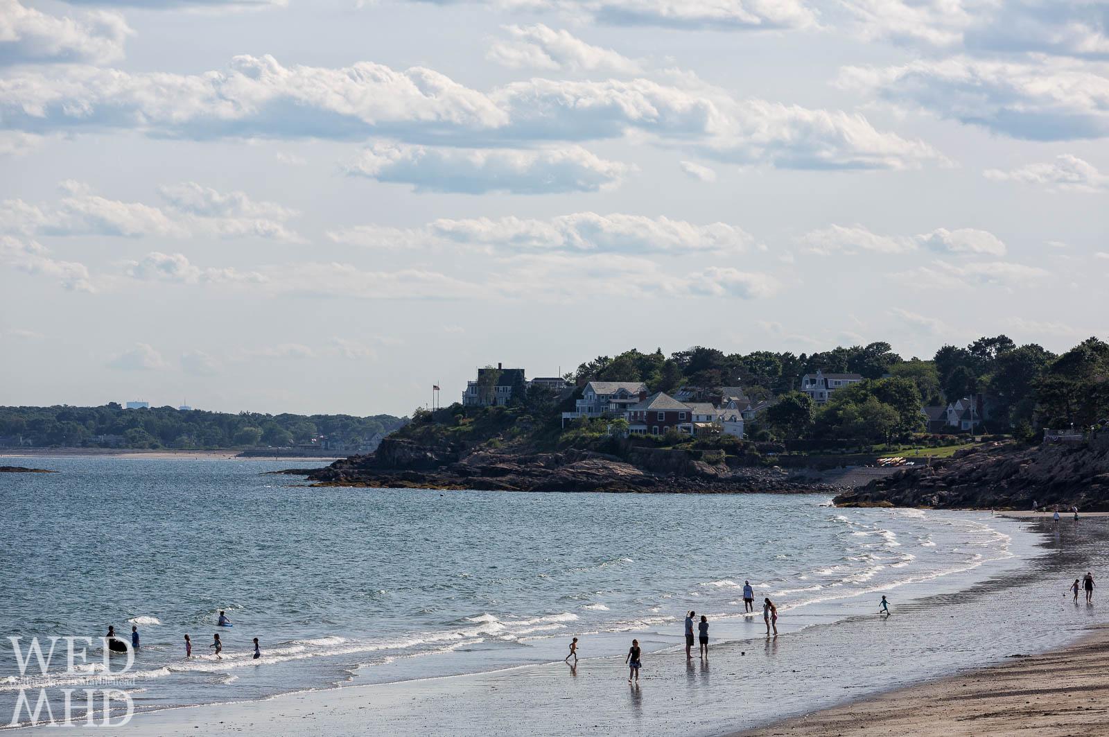Devereux Beach Silhouettes