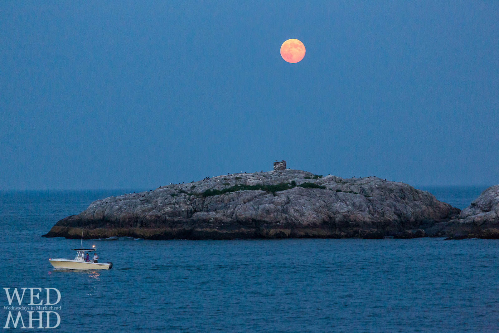 Fishing under the Full Moon