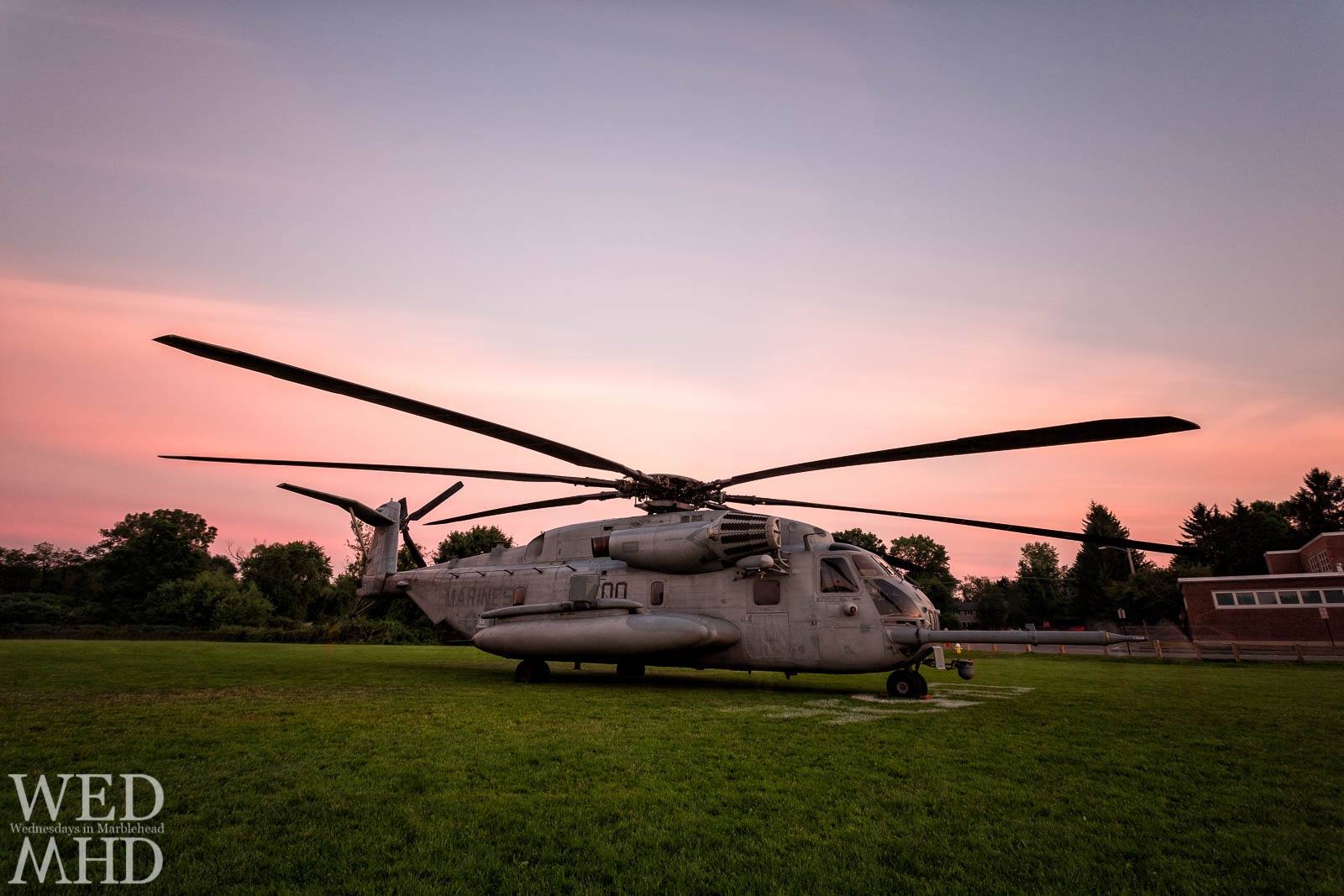 CH-53 at Sunset
