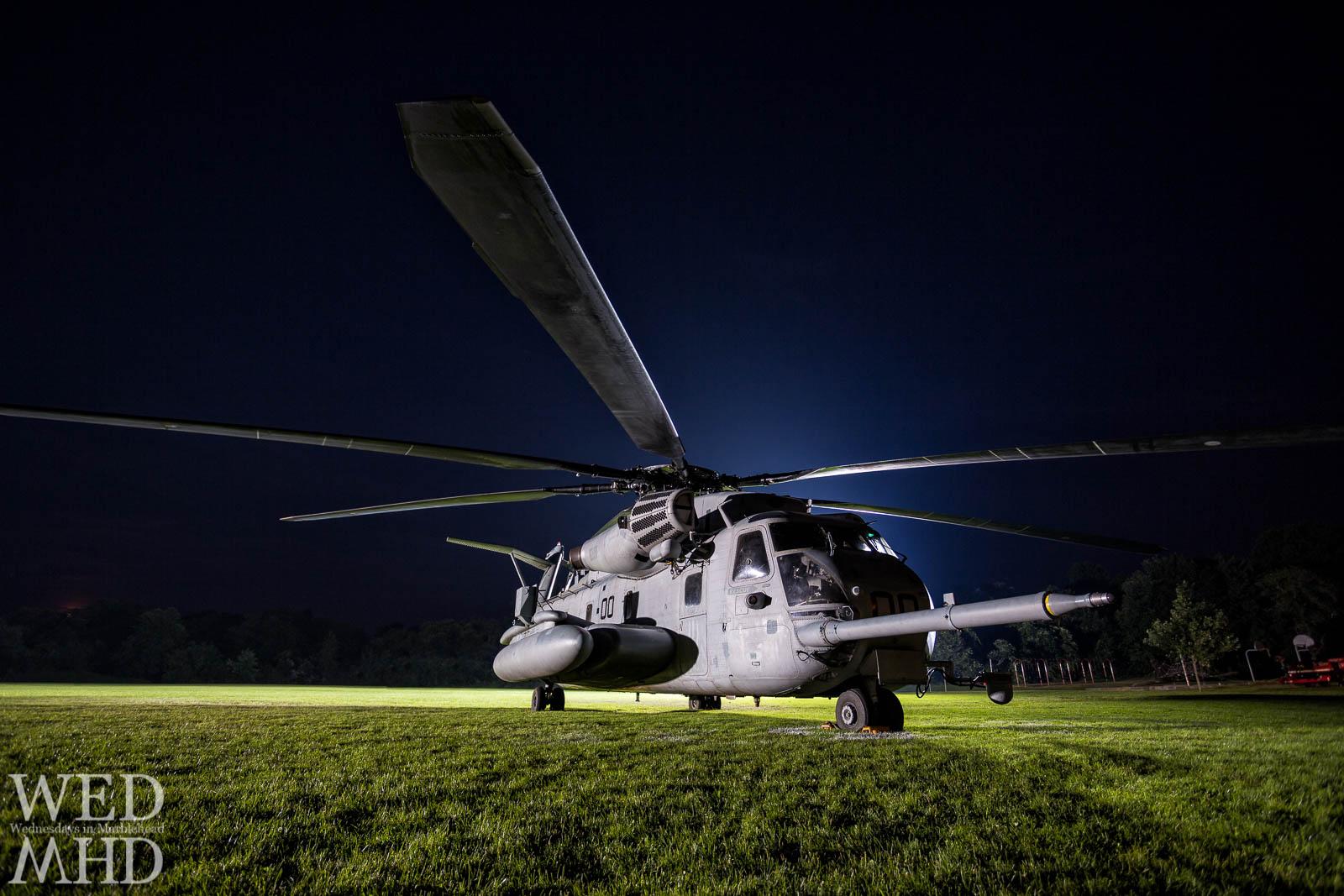 CH-53 backlit