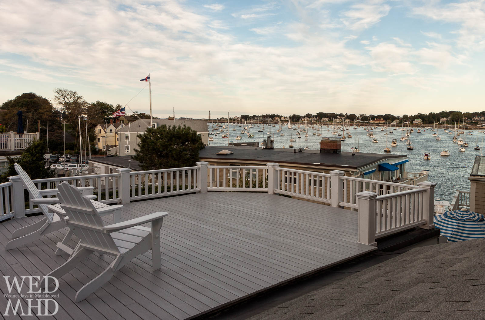 A Balcony View of Marblehead Harbor