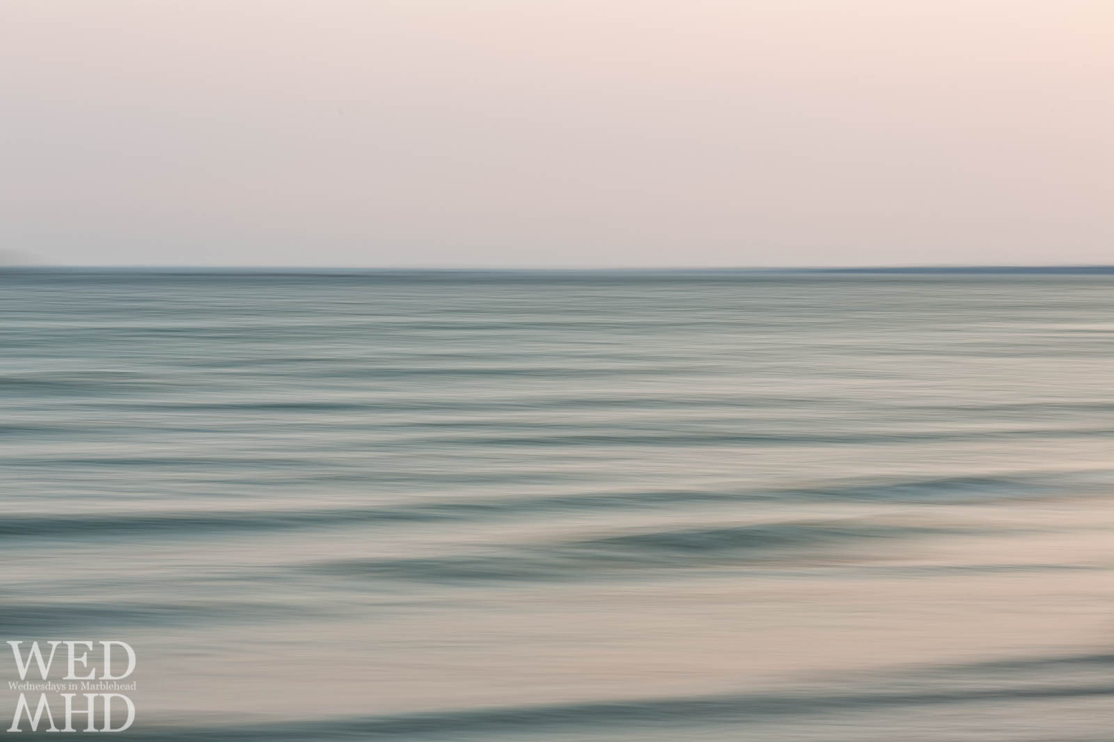 Intentional Camera Movement – Ocean at Sunset