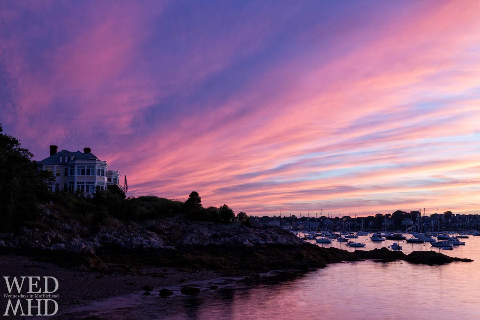 Purple Streaks of Sunset