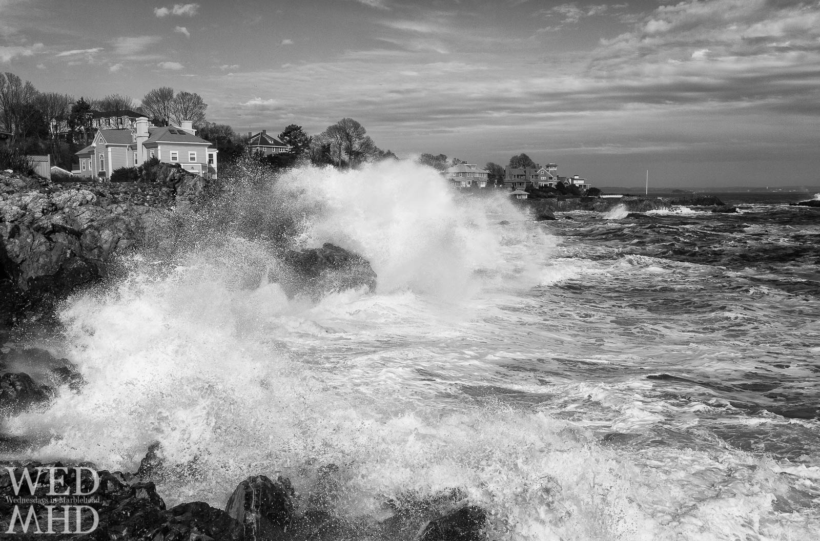 Exploding Waves at Castle Rock