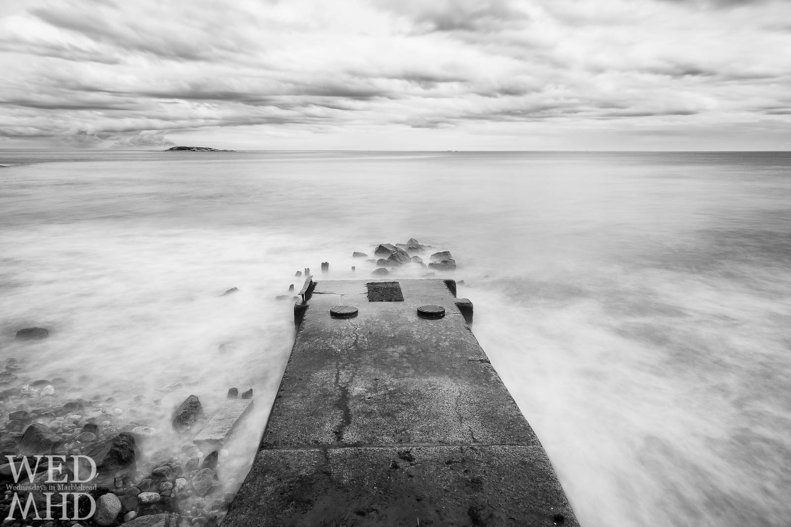 The Drain on Preston Beach