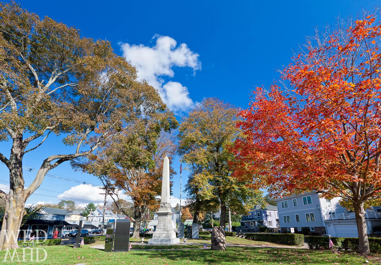 Falls Colors on Display at Memorial Park