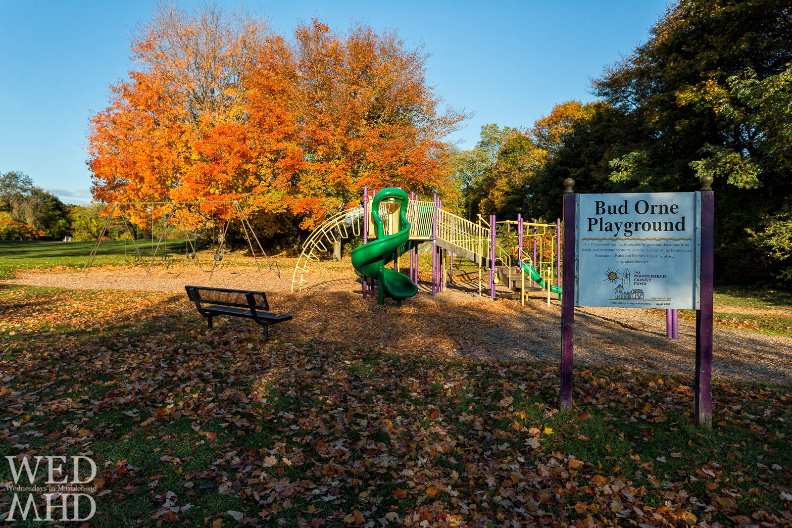 Fall Colors at the Bud Orne Playground
