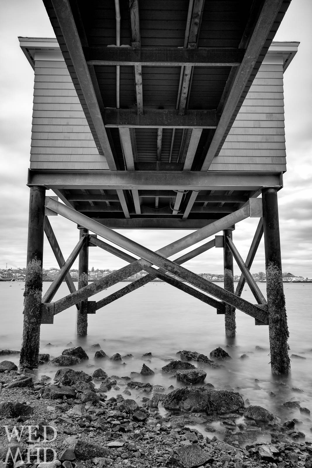 Under the Pier at the Eastern Yacht Club
