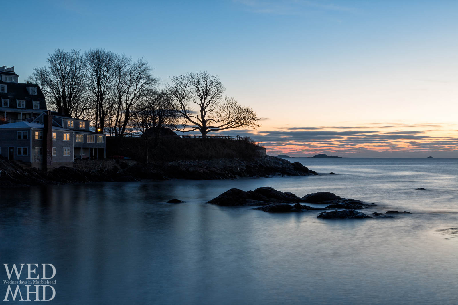 fort sewall at dawn