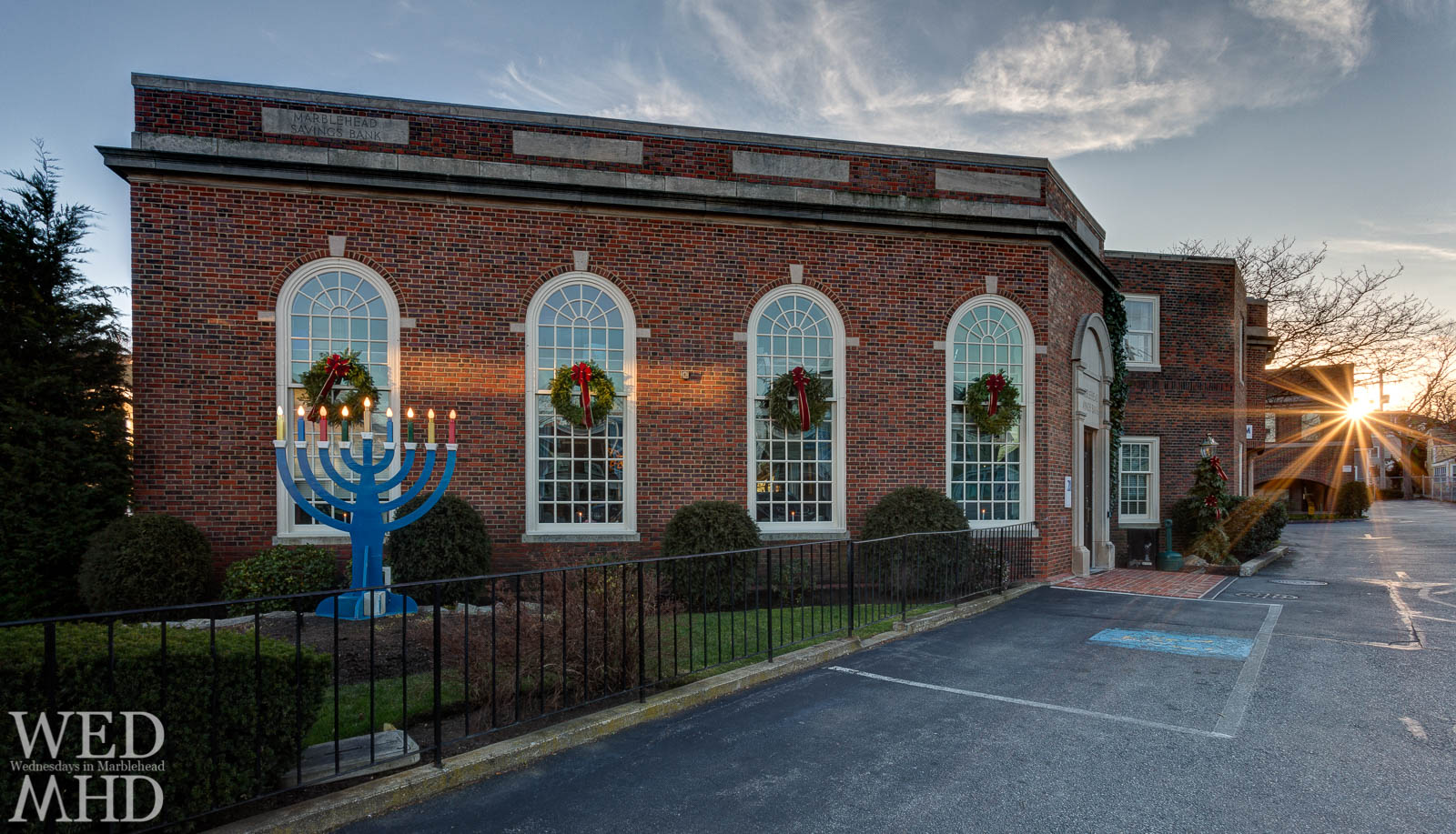 The Menorah at Marblehead Savings Bank