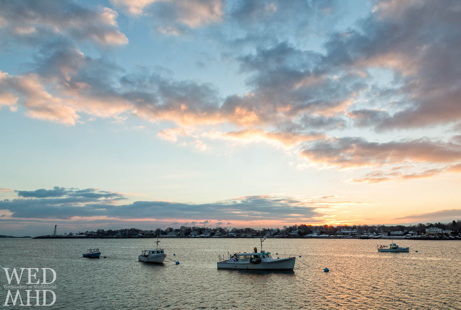 Dawn of a New Year in Marblehead
