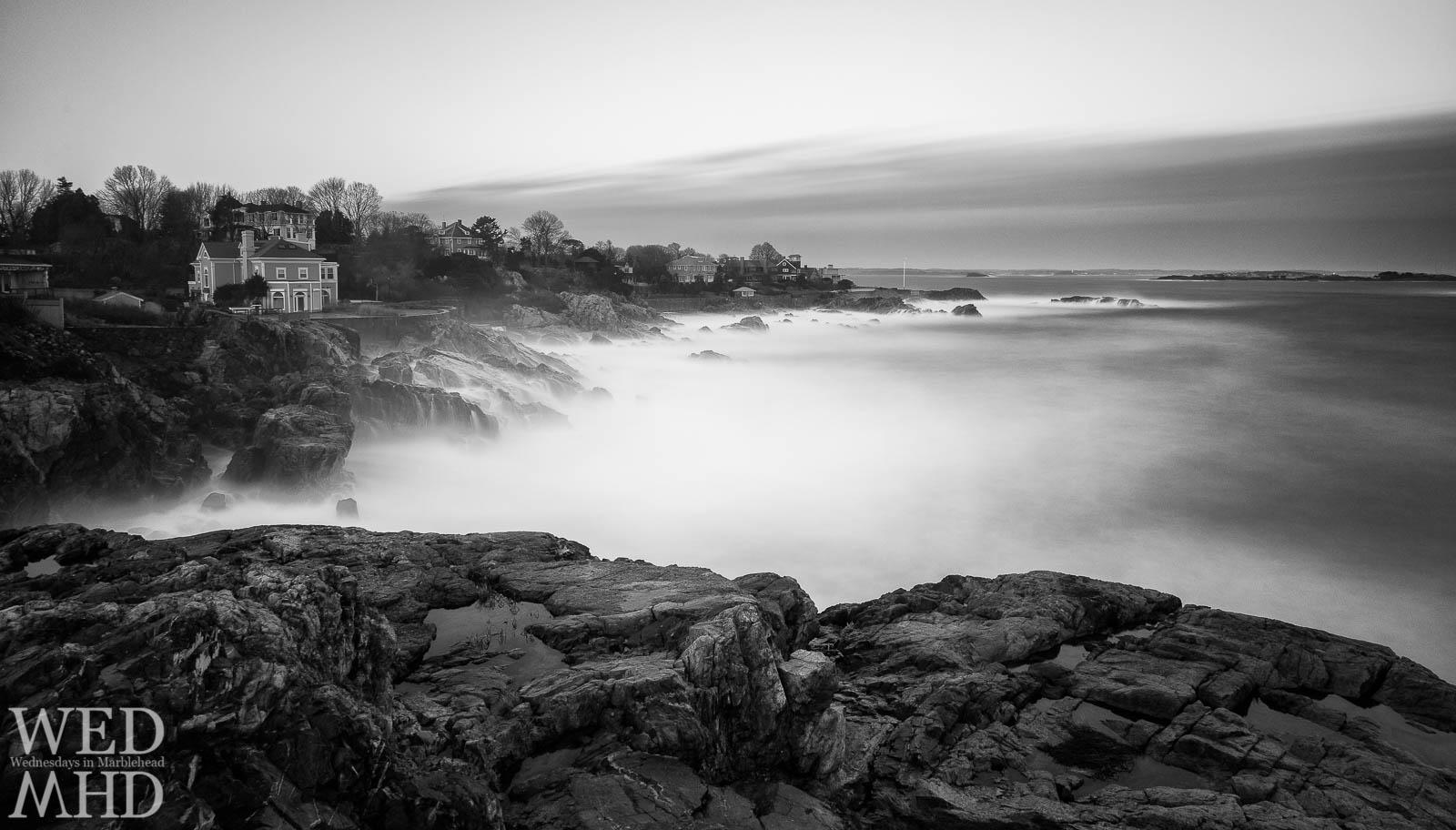 Misty Waves at Castle Rock