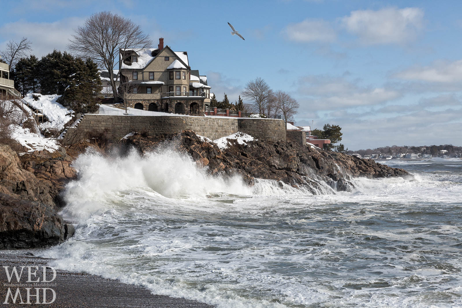 Greystone beach in Marblehead