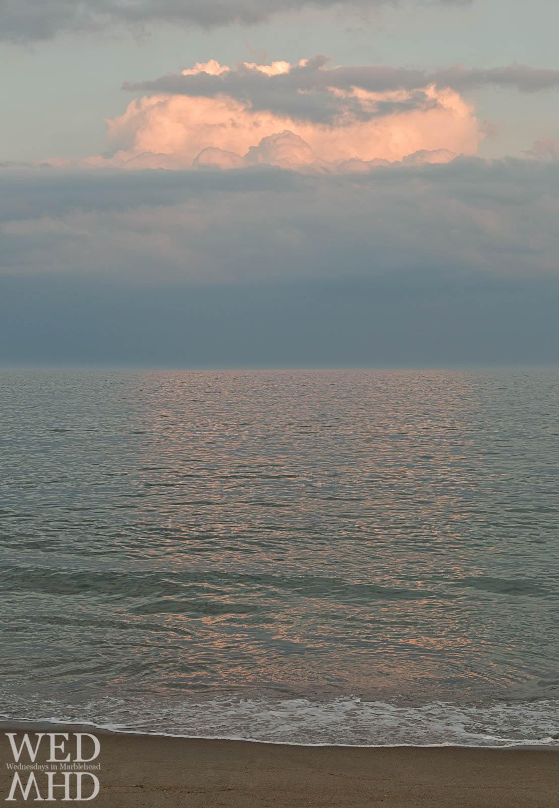 Sunset Cloud at Devereux Beach
