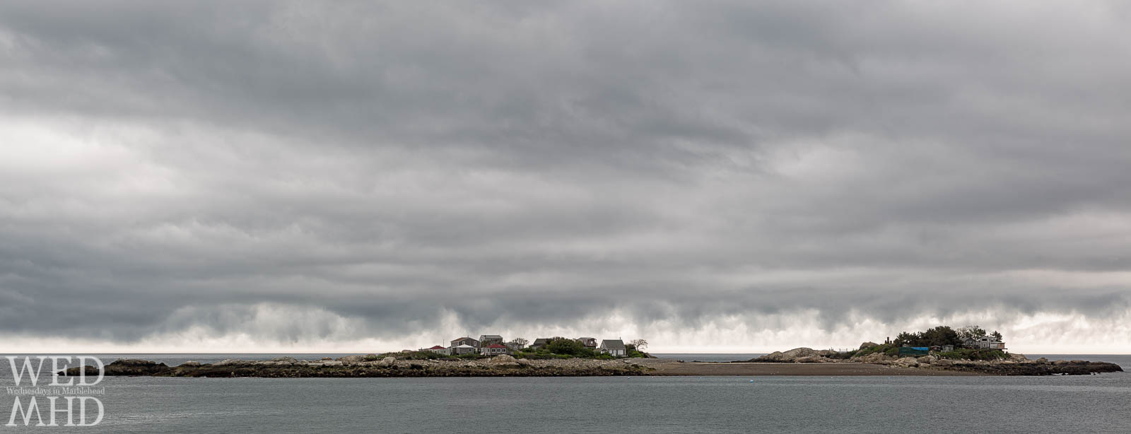 Tinkers Island Under Storm Clouds