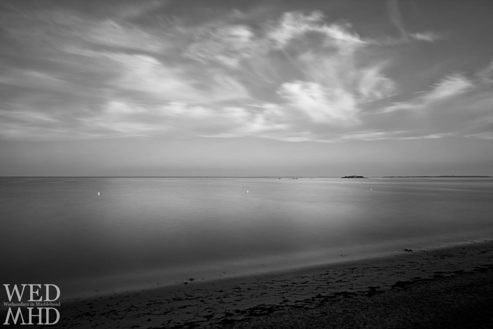 Long Exposure – Clouds Over Devereux Beach