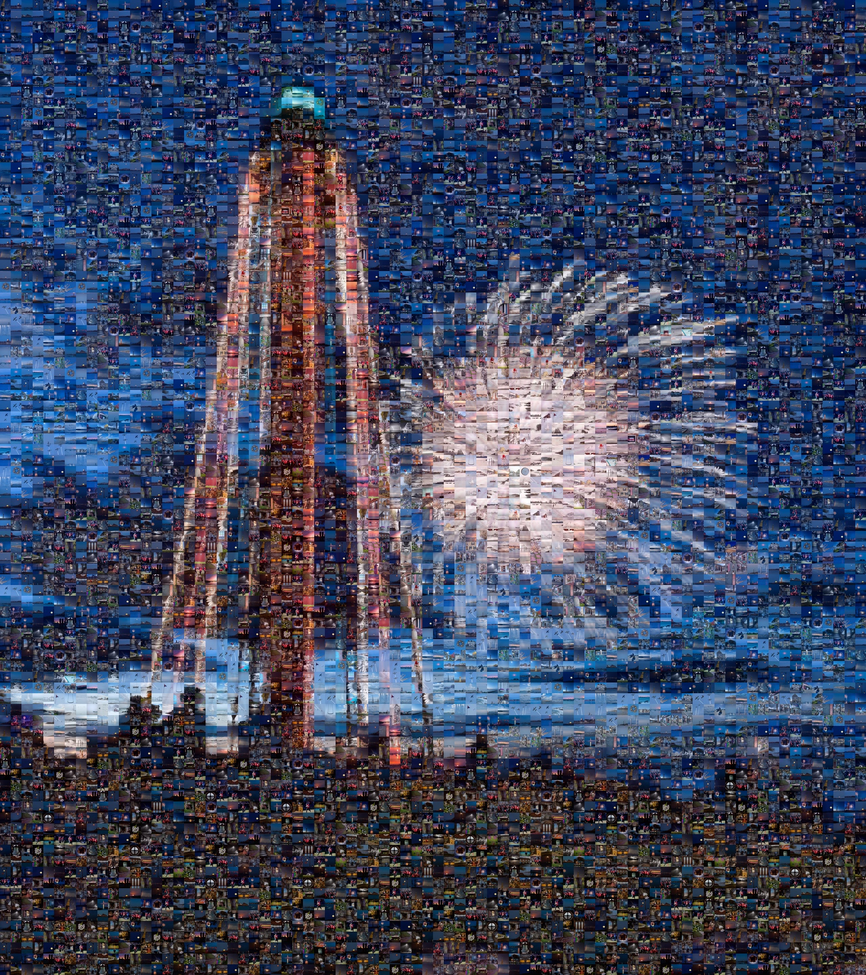 Mosaic - Lighthouse Fireworks