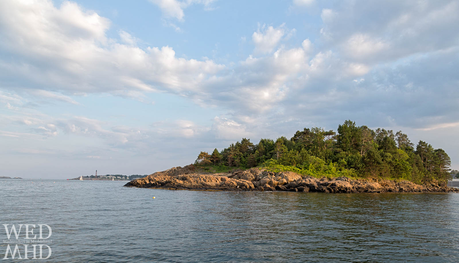 Brown's island in Marblehead
