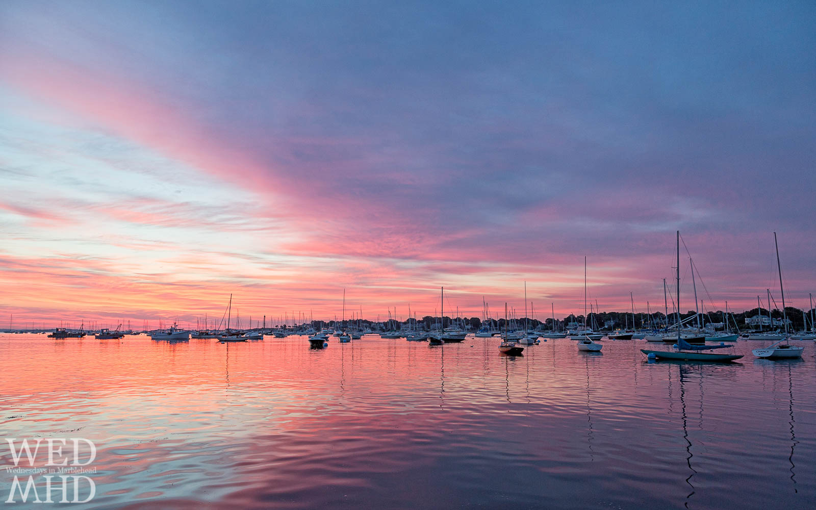 Dawn Breaks Over Marblehead Harbor