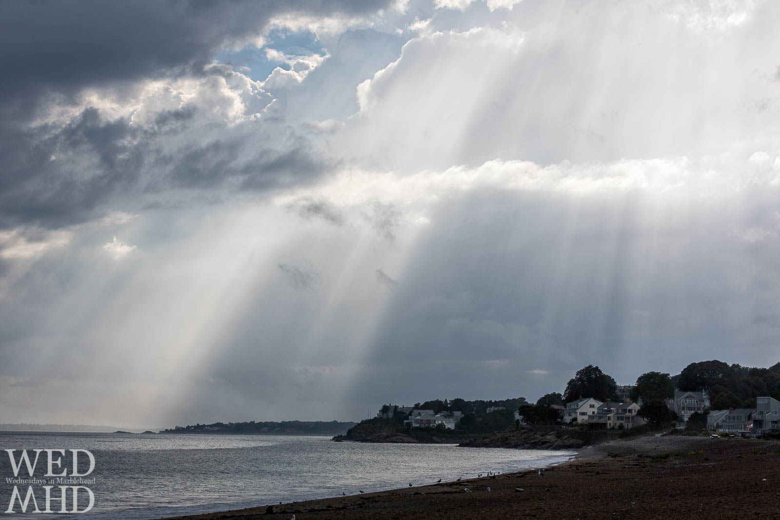 Rays of Light over Goldthwait Beach