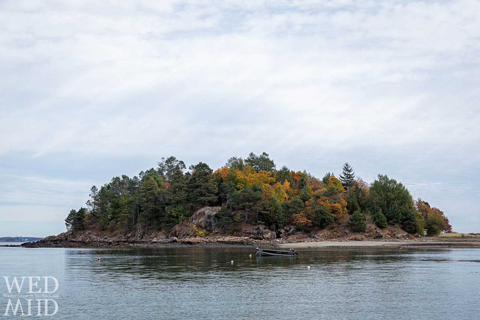 Peak Foliage on Brown's Island