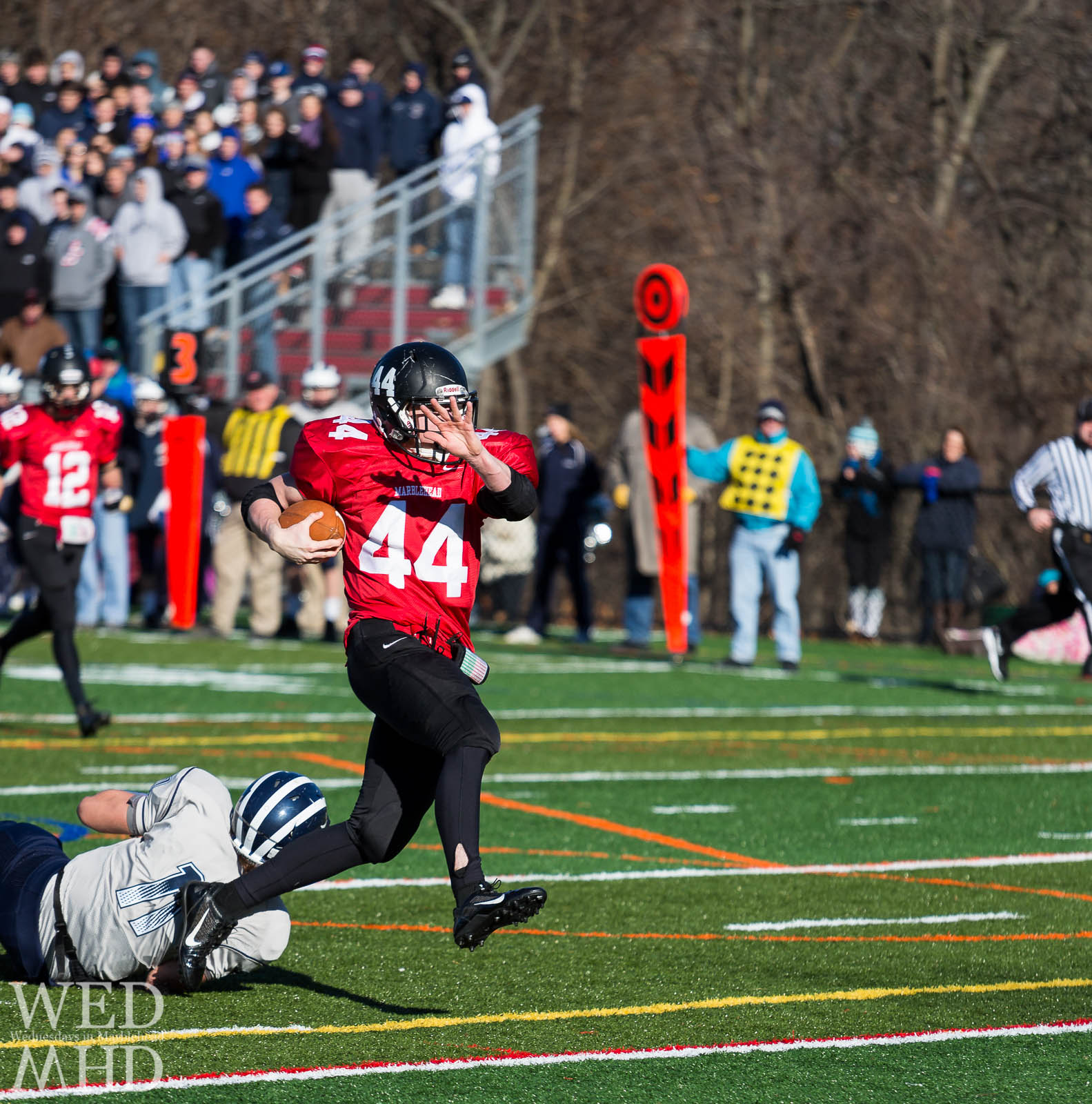The Annual Thanksgiving Football Game – Marblehead vs Swampscott