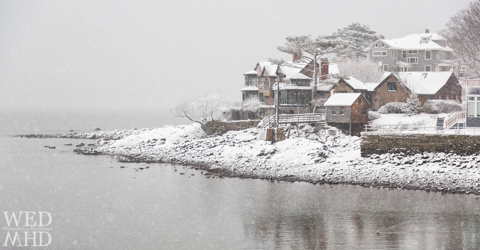 Snow in Marblehead – Little Harbor