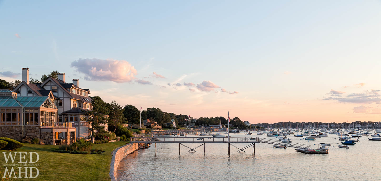 A Late Summer Day on Marblehead Harbor