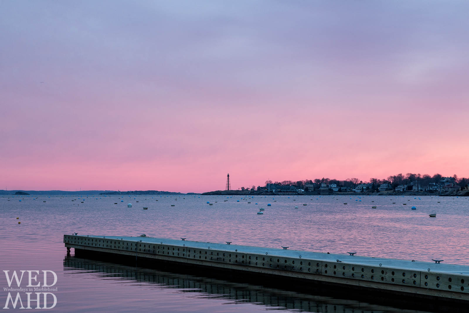 Leading into Marblehead Harbor