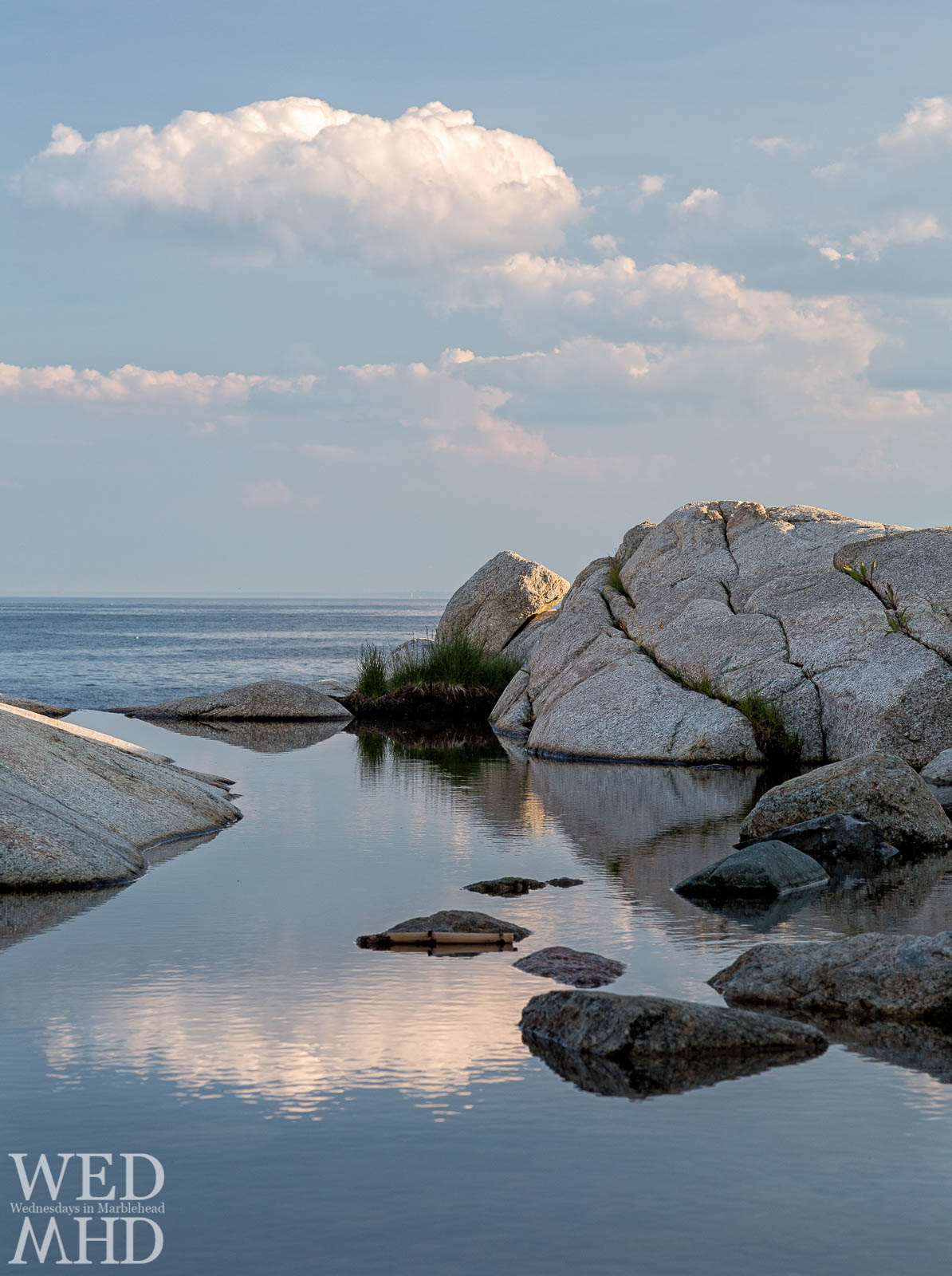 A Natural Infinity Pool on Marblehead Neck