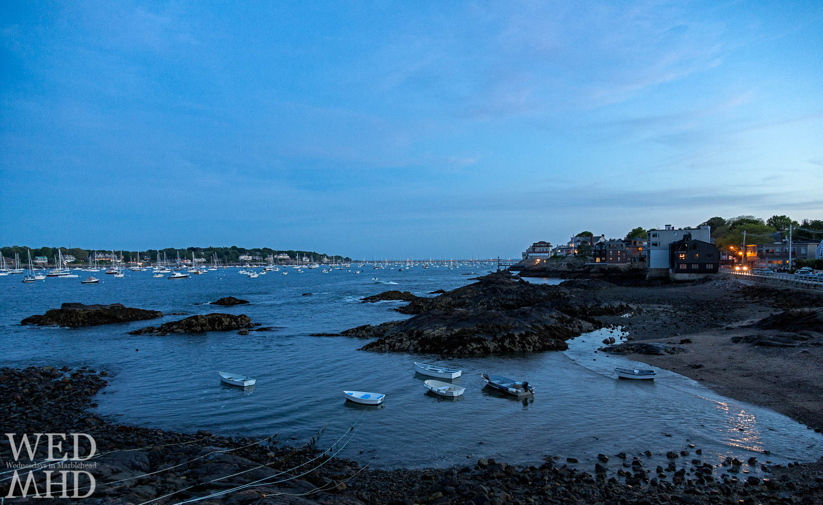 Fort Beach in the Blue Hour