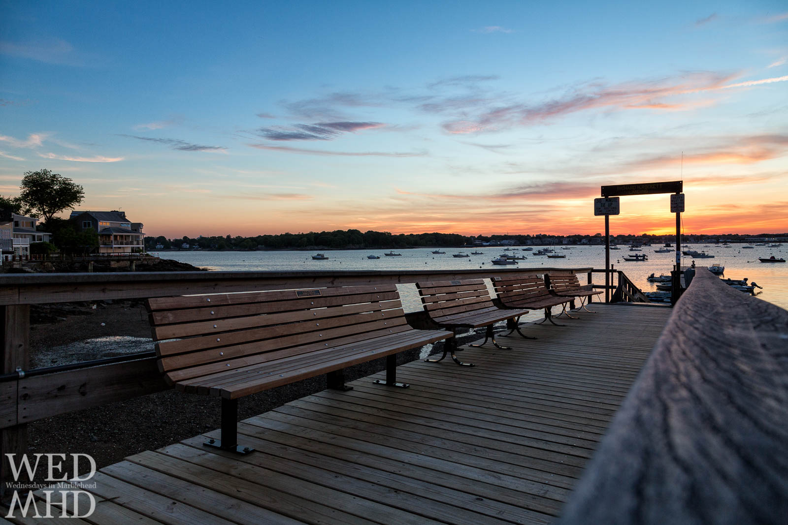 Seat for Sunset at Rockett Landing