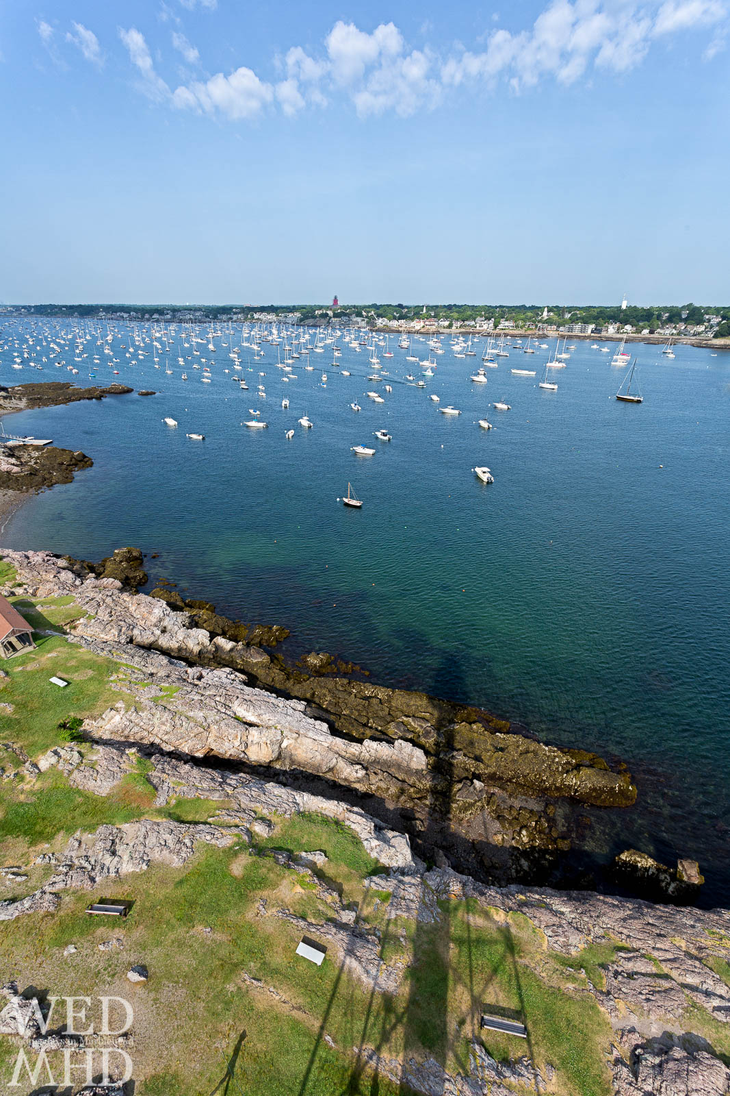 Casting Shadows at Marblehead Light