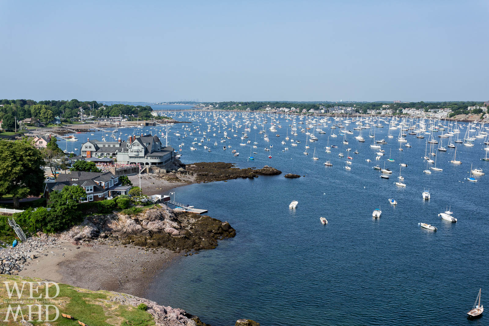 Corinthian Yacht Club and Marblehead Harbor