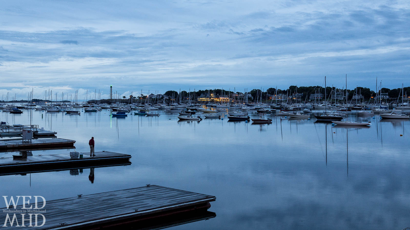 Waiting for a Ride in Marblehead Harbor