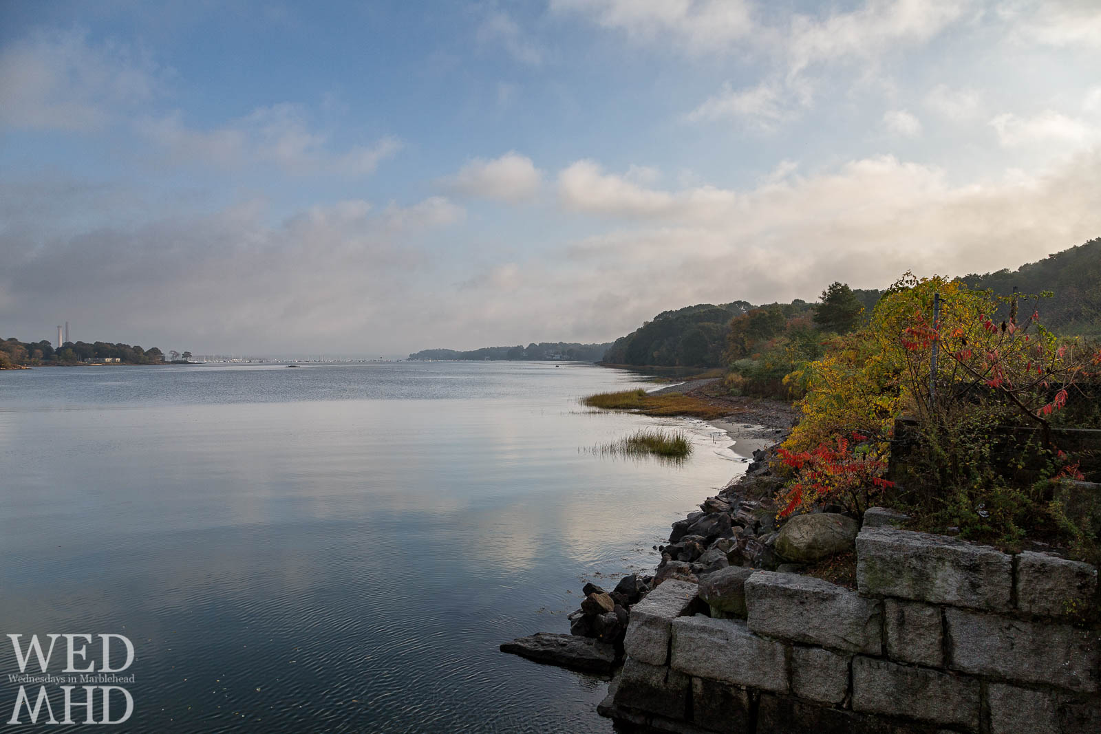 Fall Morning in Salem Harbor