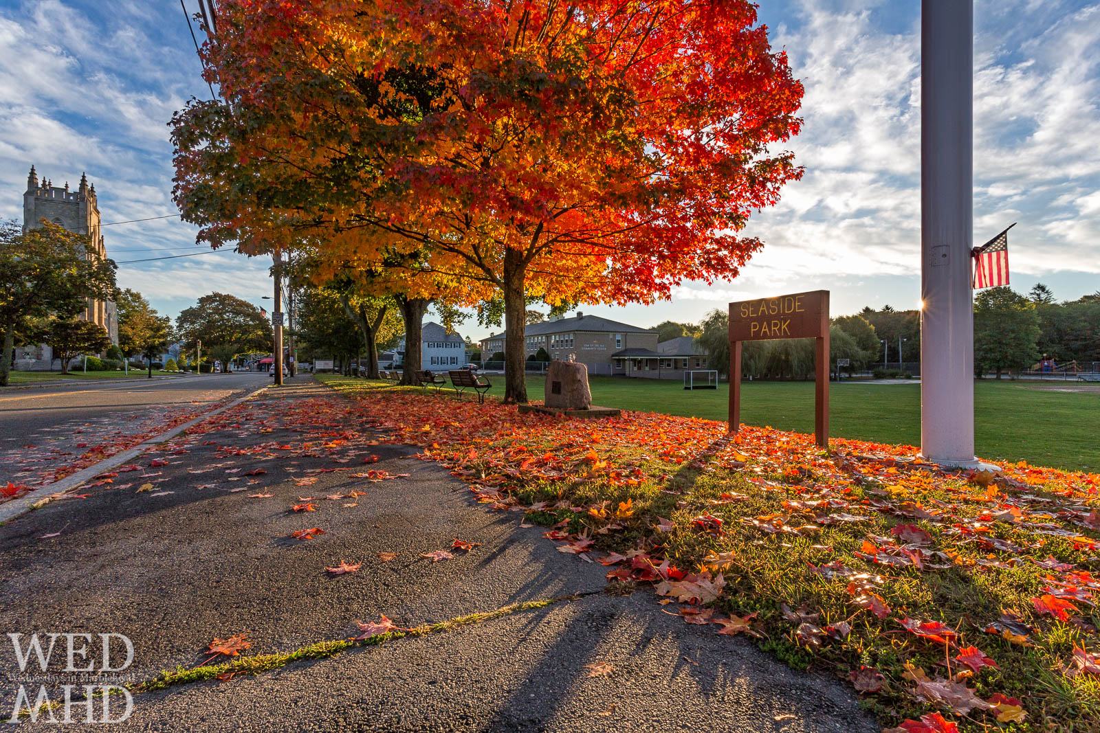 Peak Foliage in Marblehead