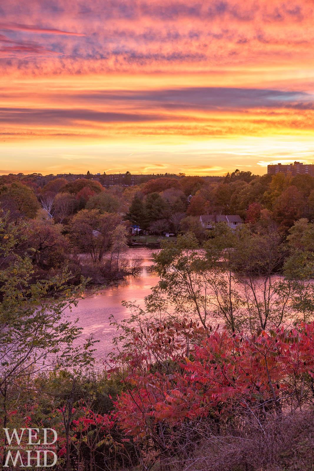 leggs hill road sunset
