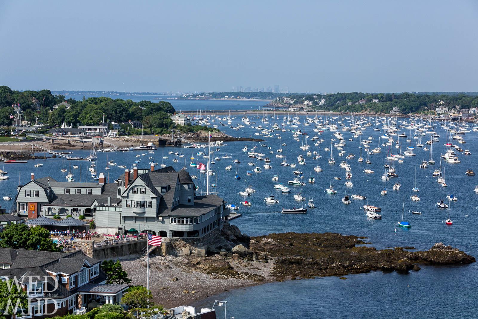 The Corinthian, Harbor and Boston Skyline