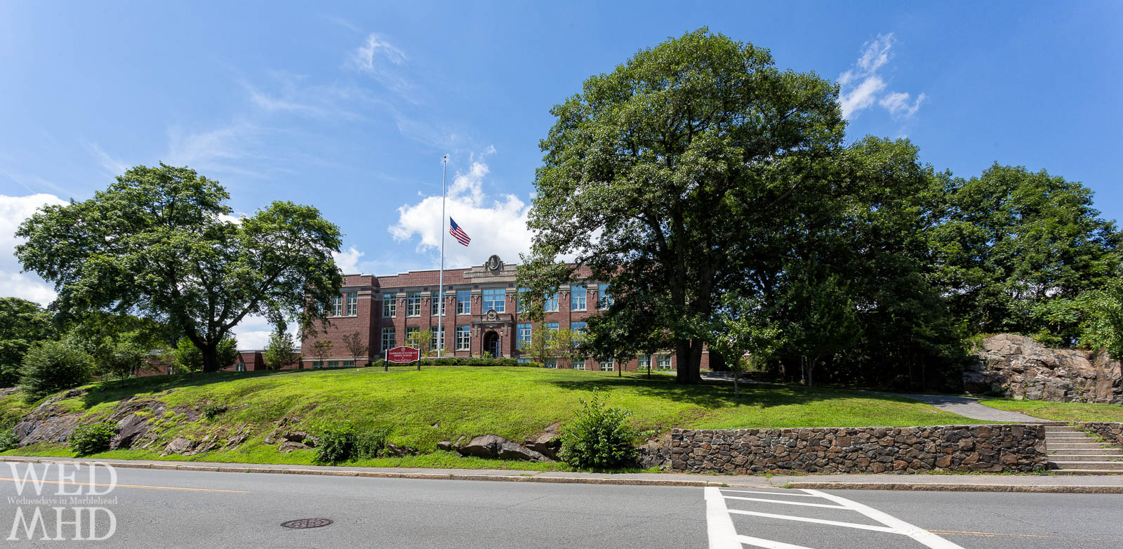 Marblehead Veterans Middle School at Duncan Sleigh Square